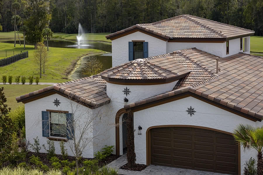 Roof Tiles: Malibu Roof Tiles on a House