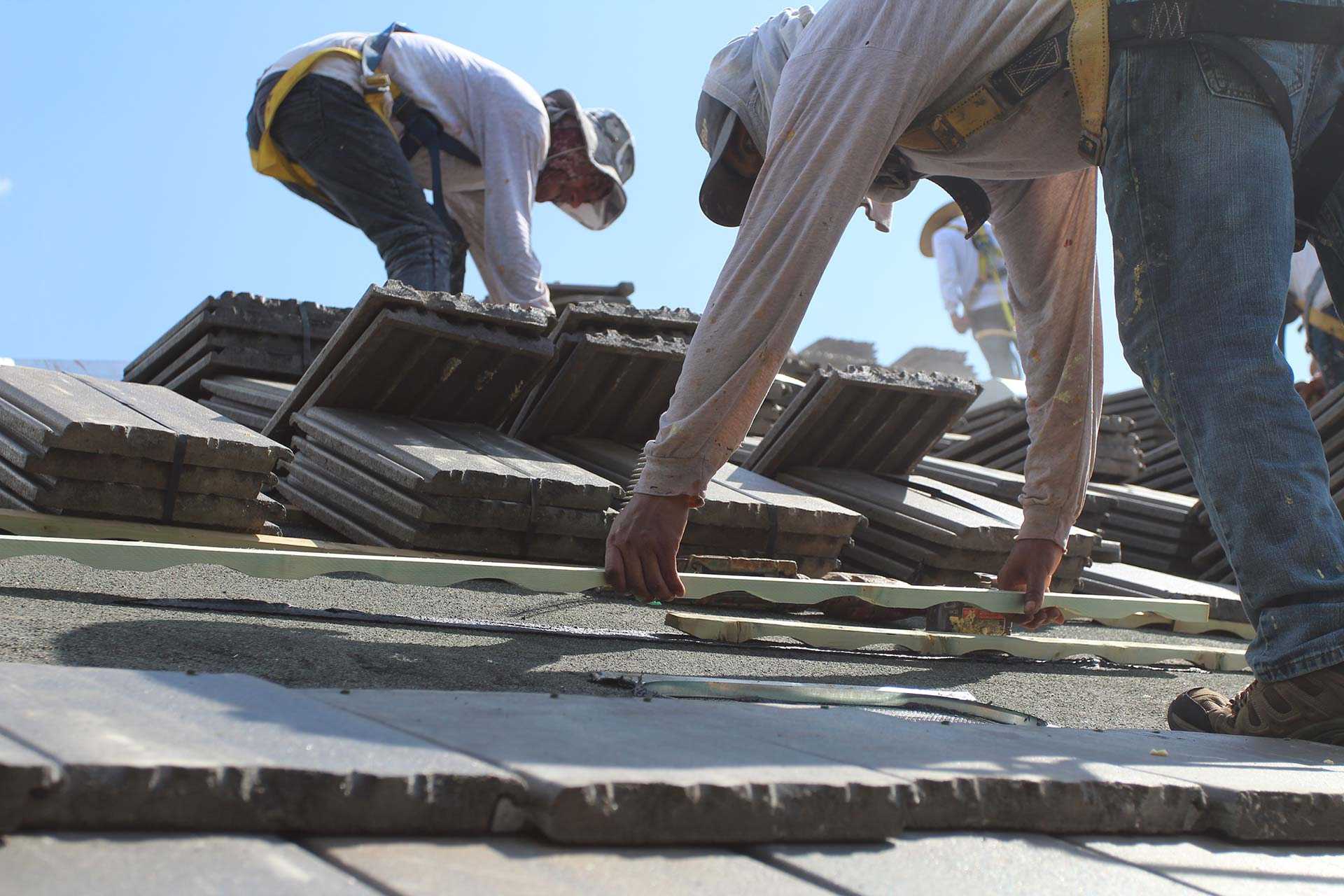 Ventilated Roof System Installation
